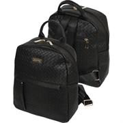 Рюкзак молодежный deVENTE 33х27х12 см, 1 отделение, кожзам, 7032035