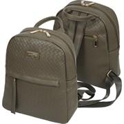 Рюкзак молодежный deVENTE 33х27х12 см, 1 отделение, кожзам, 7032036