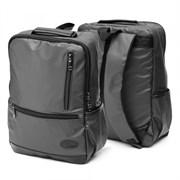 Рюкзак подростковый 39,5х28х11 см, 1 отделение, 4 кармана, черный, 254-349
