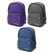 Рюкзак подростковый 39х25х15 см, 1 отделение, 3 кармана, в ассортименте, 254-304