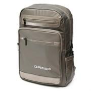 Рюкзак подростковый 39х27х13 см, 1 отделение, 5 карманов, коричневый, 254-359