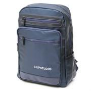 Рюкзак подростковый 39х27х13 см, 1 отделение, 5 карманов, синий, 254-358