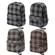 Рюкзак подростковый 39х32х14 см, 1 отделение, 3 кармана, в ассортименте, 254-324