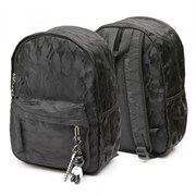 Рюкзак подростковый 40х26х14,5 см, 1 отделение, 1 карман, черный, 254-308