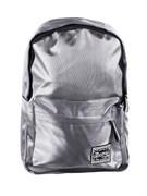 Рюкзак подростковый 40х28х16 см, 1 отделение, 3 кармана, сияющий нейлон, серый, 254-205