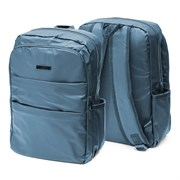 Рюкзак подростковый 41х28х15 см, 2 отделения, 4 кармана, синий, 254-353