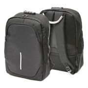 Рюкзак подростковый 42х29х11 см, 2 отделения, 1 карман, черный, 254-348