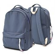 Рюкзак подростковый 42х30х13,5 см, 1 отделение, 1 карман, синий,  254-326