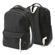 Рюкзак подростковый 42х30х13,5 см, 1 отделение, 1 карман, черный, 254-325