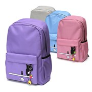 Рюкзак подростковый 43,5х29х13 см, 1 отделение, 3 кармана, в ассортименте, 254-312