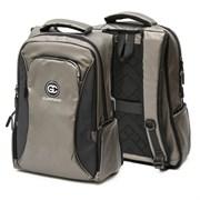 Рюкзак подростковый 47х37х15 см, 2 отделения, 3 кармана, коричневый, 254-362