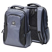 Рюкзак подростковый 47х37х15 см, 2 отделения, 3 кармана, синий