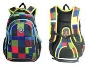 Рюкзак подростковый UFO People мягкая ортопедическая спинка, светоотражающие вставки, 5949