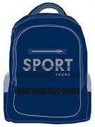 "Рюкзак подростковый Хатбер ""Basic Style. Sport"" 30х41х15 см, 2 отделения, NRk_50069"