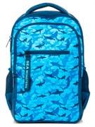 """Рюкзак подростковый Хатбер """"Basic Style. Морские охотники"""" 30х41х15 см, 2 отделения, NRk_43126"""