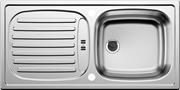 Мойка нержавеющая сталь 780 x435 врезная декор Flex мини   215816+213567   512032