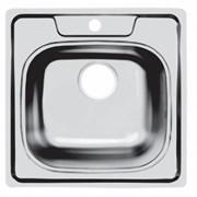 Мойка нержавеющая сталь 503 х503 врезная TopZero COP503.503-GT6K