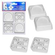Набор МультиДом МТ76-35 Антивибрационные подставки для стиральных машин и холодильников.