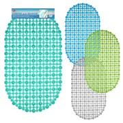 Коврик МультиДом Сеточка МВ72-1 для ванн   69*39см 4 цвета