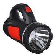 Фонарь ЧИНГИСХАН SS-5805 223-040 прожектор, 1 LED, 1 СОВ, 3 Вт, 17х11см, 4 режима, 1000мАч, пластик