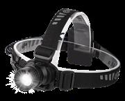 Фонарь ФАZА H7-L3WZ налобный металлический zoom 3W LED 3*AA