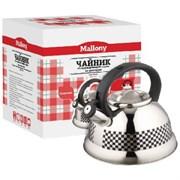 Чайник Mallony MAL-0417С (с рисунком меняющим цвет) со свистком (3.0л) 002104