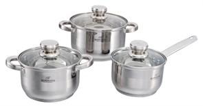 Набор посуды Bohmann BH 06-275 6пр. нерж