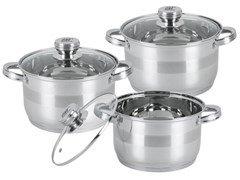 Набор посуды Bohmann BH 06-375 6пр. нерж.