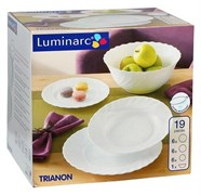 Сервиз столовый Luminarc Trianon 19 предметов 51300 00144