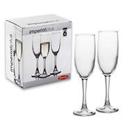 Набор фужеров PSB 6 штук 44819 для шампанского 155мл ИМПЕРИАЛ ПЛЮС