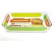 Форма для СВЧ Appetite PL25 2.6литра  прямоугольная (30*23*6см)