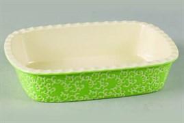 Форма Vesta Appetite YR2026A-12 прямоугольная 30*22*7.5см зеленый