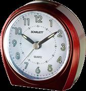 Будильник Scarlett SC-840 бургунди