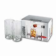 Набор стаканов PSB 6шт 41630 290мл. (высокие) ТРИУМФ