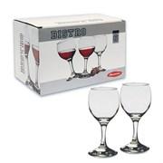 Набор фужеров PSB 6 штук 44412 для красного вина 220мл БИСТРО