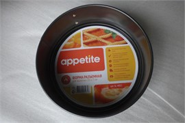 Форма разъёмная Appetite SL4002 антипригарное покрытие  для выпечки круглая 20х7