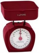 Весы Lumme LU-1302 красный гранат