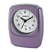 Будильник Scarlett SC-802 фиолетовый
