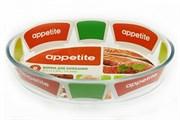 Форма для СВЧ Appetite PL11/ 2.4л овальная (30*21*6см)